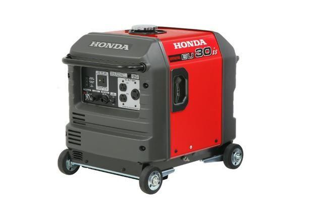 Gerador EU30iS LB 3.0KVA 120v Honda - Foto 3