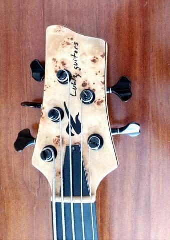 Baixo Lhuiz Guitars - Foto 5