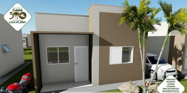 Vendo Casa no Condominio Cuiabá 300 (não perca esta oportunidade) - Foto 3