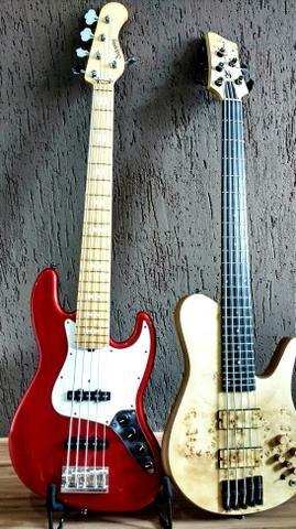 Baixo Lhuiz Guitars - Foto 4