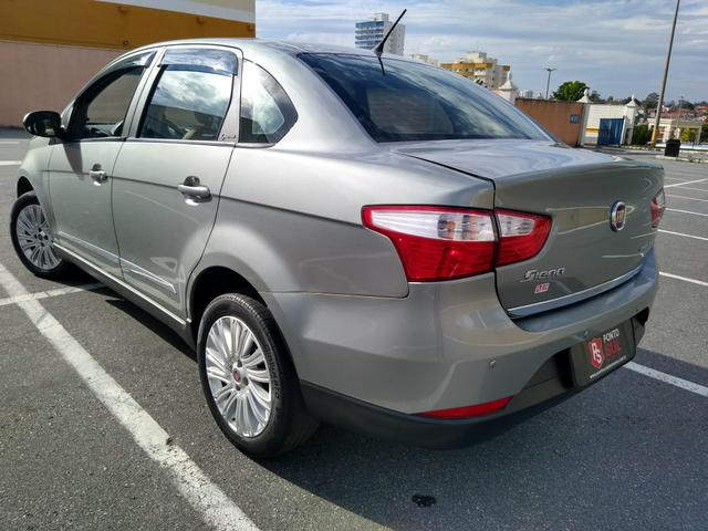 ® Fiat Gran Siena Essence 1.6 2014/2015 (Flex)(Mec) Baixo Km + Excelente Estado - Foto 4