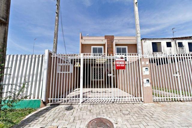 Sobrado com 2 dormitórios à venda, 70 m² por r$ 225.000,00 - ganchinho - curitiba/pr