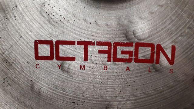 "China Octagon Dark 18"""