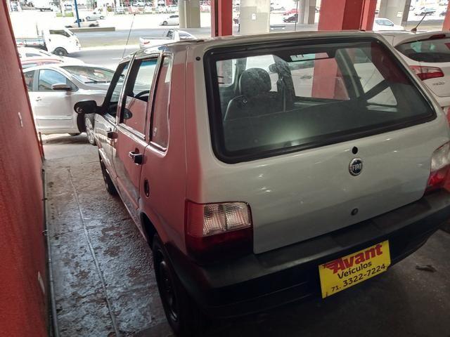 Fiat uno 2008 motor fire