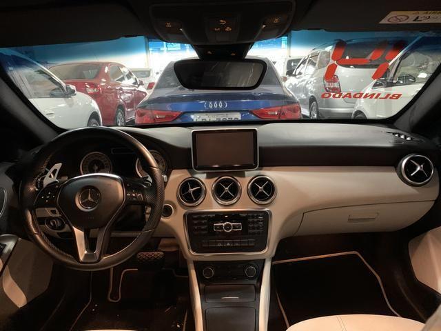 Mercedes-benz a200 1.6 turbo style automático gasolina completo 2014 - Foto 8