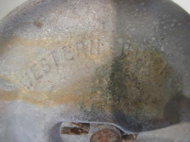Roldana / moitão americano Western Block Co. antigo de celeiro e barco - Foto 5