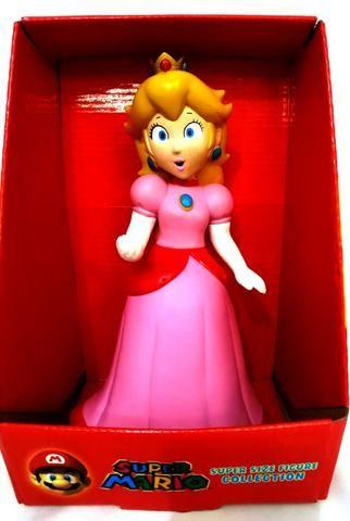 Boneca Princesa Peach Coleção Mario Bros - Loja Coimbra Computadores - Foto 3