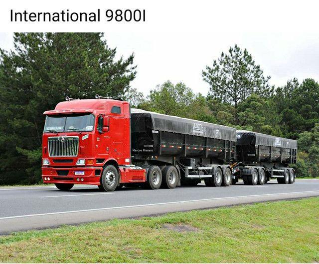 Caminhão navistar internacional 9800i