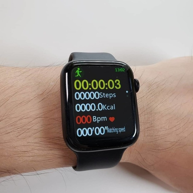 Smartwatch Relógio Iwo 12 Lite Pro W26 Tela Infinita Original - Foto 6