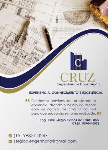 Cruz Engenharia e Construção / Engenheiro Civil