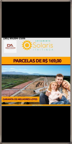 Loteamento Solaris em Itaitinga $%¨& - Foto 9