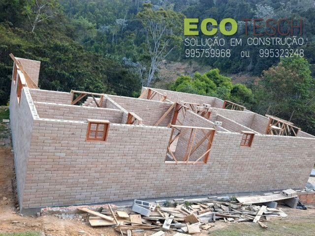 Casa de tijolinho ecologico de 350 a 450m3 - Foto 10