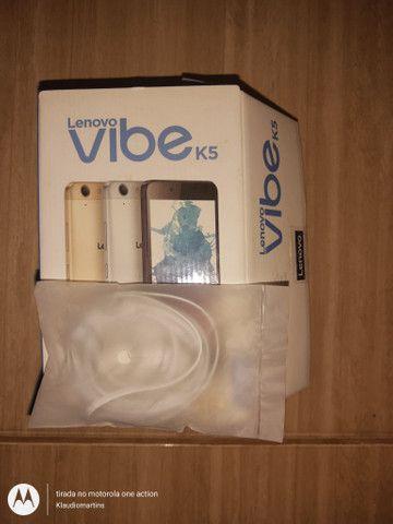 Caixa celular vibe K5 - Foto 5