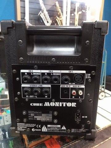 Monitor Amplificado Roland Cm-30 usado (Mixer Instrumentos Musicais) - Foto 4