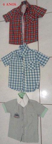 vendo roupas menino
