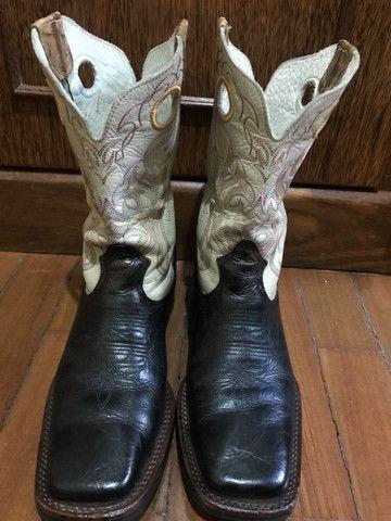 Bota texana de couro Durango - 38 - Foto 5