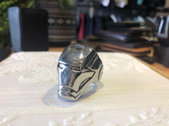 Anel de aço inoxidável - Homem de ferro - Foto 5