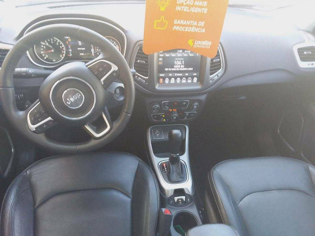 COMPASS 2019/2020 2.0 16V FLEX LONGITUDE AUTOMÁTICO - Foto 6