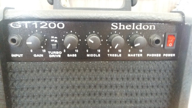 Guitarra Menphis e caixa Sheldon - Foto 5