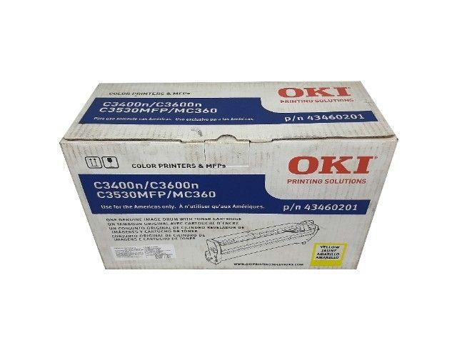 Fotocondutor Okidata C3400N / 43460201 Yellow Original Novo