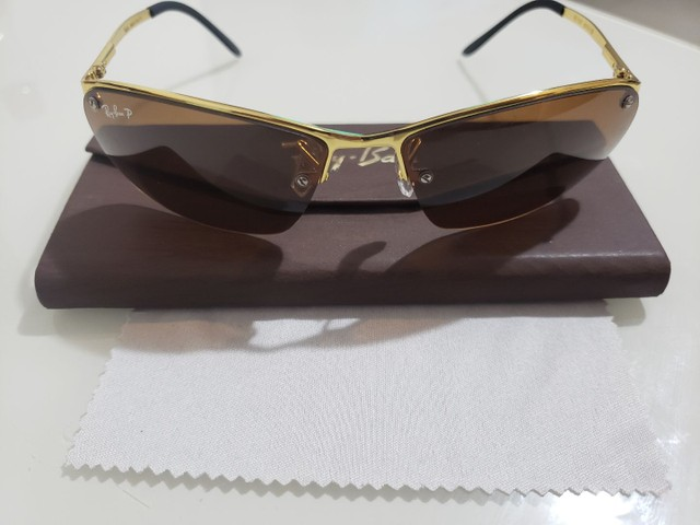 Óculos Ray Ban Unisex Metálico Modelos 100% Atualizados  - Foto 4