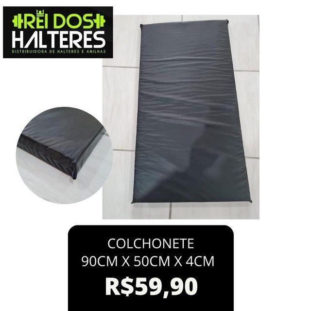Colchonete Alta Densidade 90x50x4cm apenas R$ 59,90, treino , academia , musculação