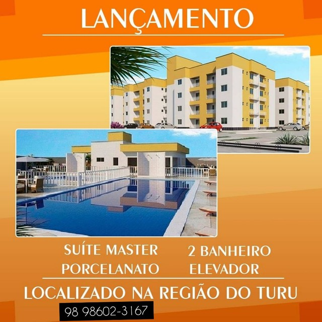 72* Seu Apartamento com 03 quartos no Turu