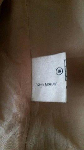 casaco sobretudo la de mohair - Foto 5