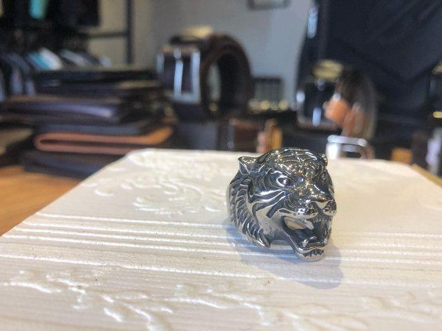 Anel de Aço Inoxidável - Leopardo - Foto 2
