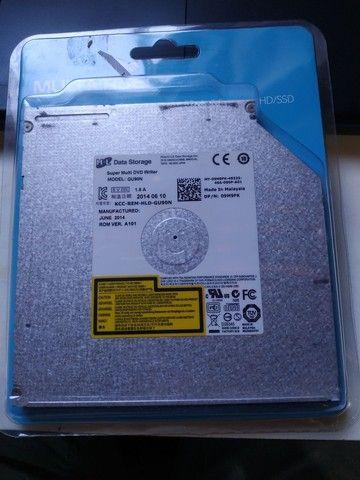 Memória RAM 4Gb + Leitor de CD e DVD interno para notebook - Foto 3