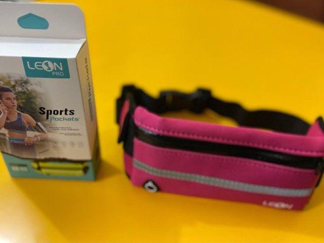 Pochete Esportiva neoprene com cinta elástico  - Foto 2