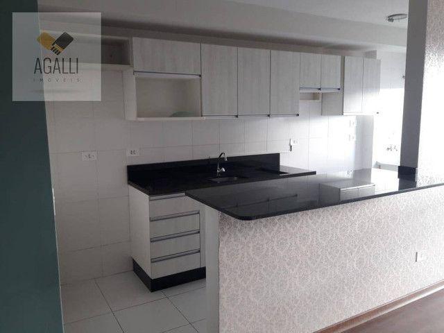 Apartamento com 2 dormitórios para alugar por R$ 1.300,00/mês - Hauer - Curitiba/PR - Foto 6