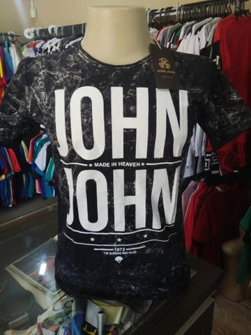 Camisetas em Algodão Lavado Premium