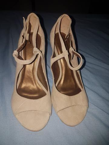 Sandália e vestido