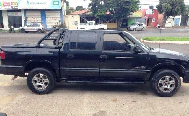 CHEVROLET S10 1998/1999 4.3 SFI DLX 4X2 CD V6 12V GASOLINA 4P MANUAL