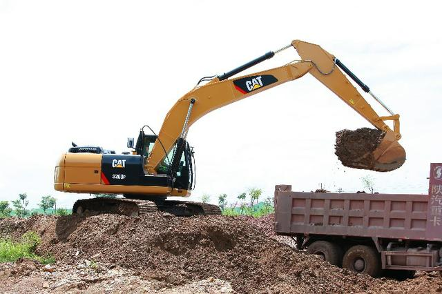 Escavadeira Caterpillar 320 D2 2016