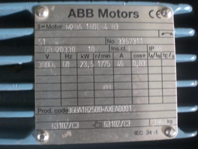Motor elétrico 32 CV Novo 1775 RPM 380v ABB Motors - Foto 3