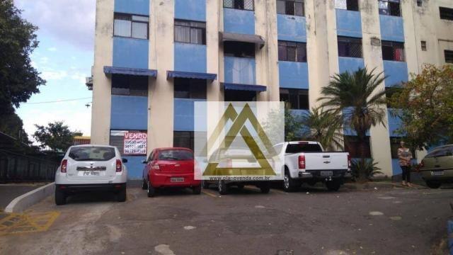 Apartamento com 3 dormitórios à venda, 66 m² por r$ 120.000 - vila santa rita - goiânia/go