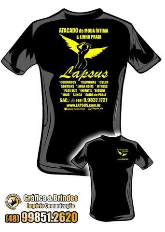 f6bddd525 Uniforme Camiseta Fio 30 1 Penteado - em Serigrafia  Eventos e Festas -  Personalizadas