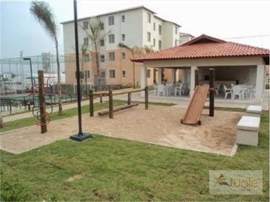 Apartamento com 3 dormitórios à venda, 50 m² - condomínio pitangueiras - hortolândia/sp - Foto 5