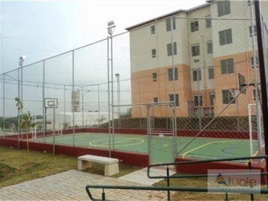 Apartamento com 3 dormitórios à venda, 50 m² - condomínio pitangueiras - hortolândia/sp - Foto 4