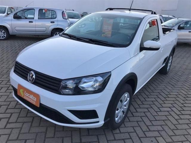 VOLKSWAGEN SAVEIRO 2018/2018 1.6 MSI TRENDLINE CS 8V FLEX 2P MANUAL - Foto 4