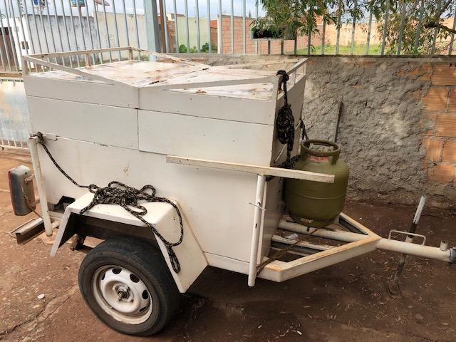 Carretinha reboque trailer sem placa (Leia o anuncio)