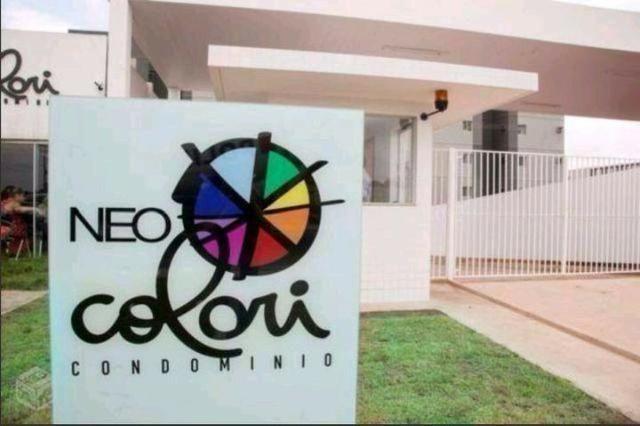 Neo Colori Mario Covas, apto 2/4 mobiliado, R$1.300 3º andar *