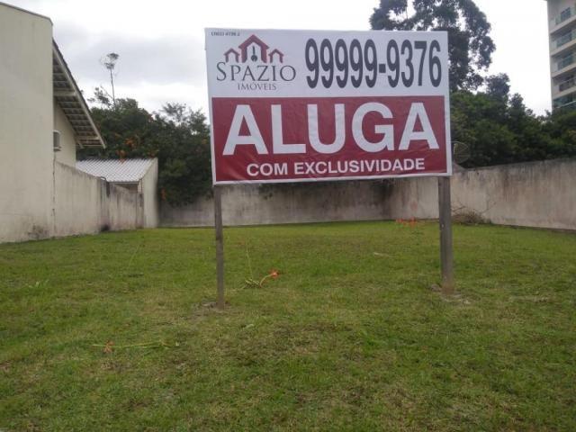 Terreno para alugar, 392 m² por r$ 8.900/mês - praia brava - itajaí/sc