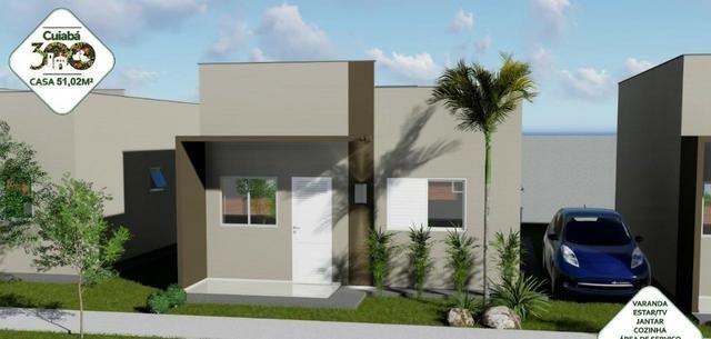 Vendo Casa no Condominio Cuiabá 300 (não perca esta oportunidade) - Foto 2