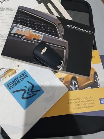 Chevrolet Sonic Sedan LTZ automático 2013 - Foto 16