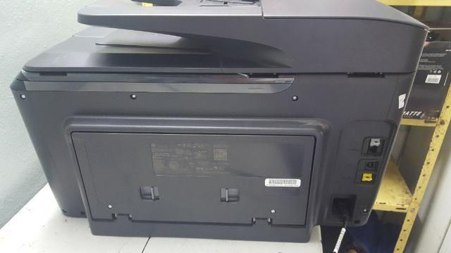 Impressora Multifuncional Hp Officejet Profissional 8715 Com Wi-Fi / 4 Em 1 Bivolt - Preta - Foto 6