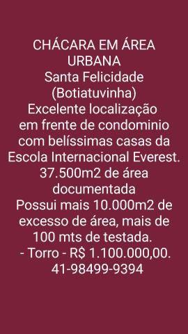 Oportunidade Chácara - Santa Felicidade Botiatuvinha