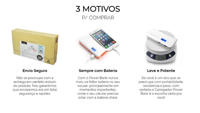 Carregador Portátil Power Bank - Foto 4